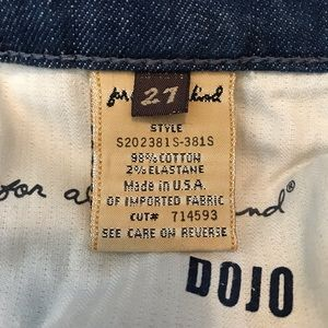 7 For All Mankind Jeans - 7 for Man Kind Dojo Crop Jeans Style S202381S 381S